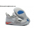 wholesale Nike PG 2.5 PlayStation Wolf Grey Mens Shoes