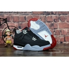 Kids Air Jordan 4 Retro Bred Shoes
