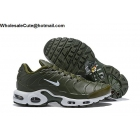 wholesale Nike Air Max Plus TN Army Green White Mens Shoes