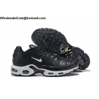 wholesale Mens & Womens Nike Air Max Plus TN Black White