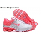wholesale Womens Nike Air Zoom Shox Silver Pink Shoes