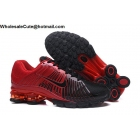 wholesale Nike Air Shox Zoom Black Red Mens Shoes