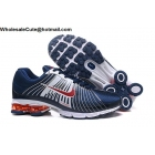 Nike Air Zoom Shox Navy Blue White Red Mens Shoes