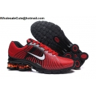 wholesale Nike Air Zoom Shox Red Black White Mens Shoes