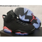 Mens & Womens Air Jordan 6 Black Infrared OG 2019