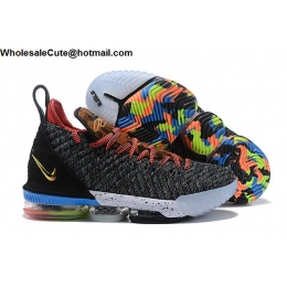 Nike LeBron 16 What The LeBron Mens Basketball Shoes