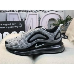 Nike Air Max 720 Grey Black Mens Shoes