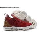 wholesale Nike LeBron 16 King Team Red Mens Basketball Shoes