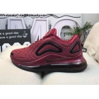 Nike Air Max 720 Wine Red Black Mens Shoes