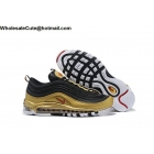 Nike Air Max 97 Metallic Pack Black Gold Red Mens Shoes
