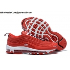 Nike Air Max 97 Overbranding Red White Mens Shoes