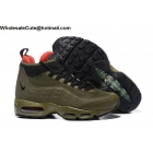 wholesale Mens Nike Air Max 95 Sneakerboots Dark Loden Olive Green