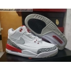 Mens & Womens Air Jordan 3 JTH NRG White Red