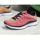 wholesale Mens & Womens Nike Free 5.0 Flyknit Pink White Black