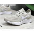 wholesale Mens & Womens Nike Epic React Flyknit Grey White