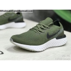 wholesale Mens & Womens Nike Epic React Flyknit Olive Green
