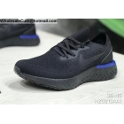 wholesale Mens & Womens Nike Epic React Flyknit Triple Black