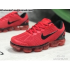 wholesale Nike Air VaporMax 2019 Red Black Mens Shoes
