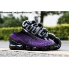 Nike Air Vapormax Flyknit 3.0 Purple Black Mens Shoes