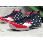 wholesale Nike Air Foamposite One The American flag Mens Shoes