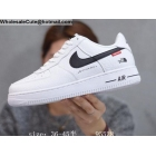 wholesale Mens & Womens Nike Air Force 1 Low Supreme White
