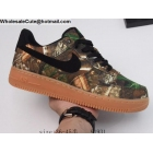 wholesale Mens & Womens Nike Air Force 1 Low Realtree Black Camo