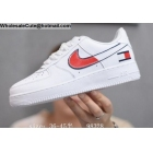 Mens & Womens Tommy Nike Air Force 1 Low White Red
