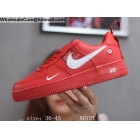 Mens & Womens Nike Air Force 1 Low Utility Red