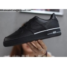 wholesale Mens & Womens Nike Air Force 1 Low 07 LV8 Star Black