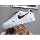 wholesale Mens & Womens Nike Air Force 1 Low Utility White