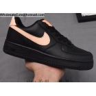 wholesale Nike Air Force 1 Low Black Pink Womens Shoes