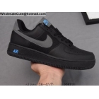 Mens & Womens Nike Air Force 1 Low Black Grey Blue