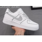 wholesale Mens & Womens Nike Air Force 1 Low Grey White