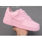 Womens Nike Air Force 1 07 Low All Pink Shoes