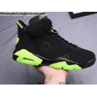 Air Jordan 6 Oregon Ducks PE Black Mens Shoes