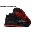 wholesale Nike LeBron 3 Black Red Mens Shoes
