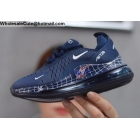Kids Nike Air Max 720 Spider Man Dark Blue