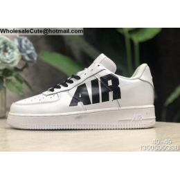Mens Off White Nike Air Force 1 Low White Black