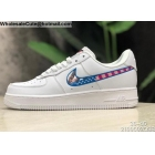 wholesale Mens & Womens Parra Nike Air Force 1 Low White