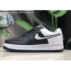 wholesale Mens & Womens Nike Air Force 1 07 LV8 Low Black White