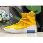 Nike Air Fear of God 1 Amarillo White Mens Sneakerboot