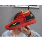 wholesale Nike KD 11 Red Black Yellow Mens Shoes