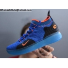 Nike KD 11 Blue Black Orange Mens Basketball Shoes