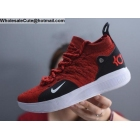 wholesale Nike KD 11 Red Black White Mens Basketball Shoes