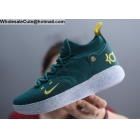 wholesale Nike KD 11 Green White Mens Basketball Shoes