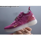 wholesale Nike KD 11 Pink White Mens Basketball Shoes