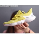 wholesale Nike Free RN 5.0 Yellow White Mens Trainer