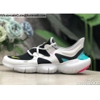 wholesale Nike Free RN 5.0 White Black Blue Mens Trainer