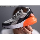 wholesale Kids Nike Air Max 270 Grey White Orange