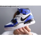 Kids Jordan Legacy 312 White Blue Black